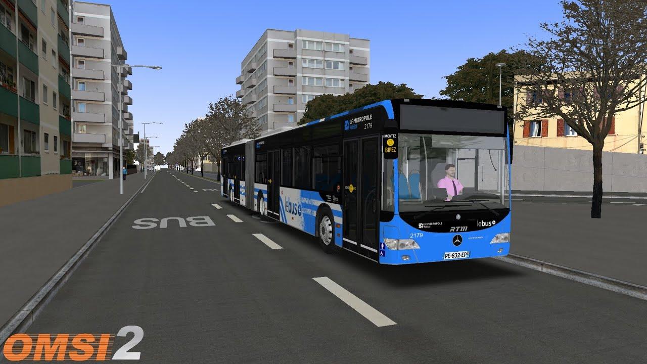 Download OMSI 2 #153: Marseille 2018   Ligne T2   MB O530G FL