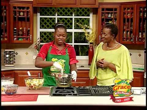 How to make mash potato salad jamaican style