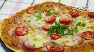 Невозможно вкусно!!!🍕 Идеальная ПИЦЦА БЕЗ ДРОЖЖЕЙ 🍕 БЫСТРЫЙ РЕЦЕПТ пиццы! Лучшее ТЕСТО для ПИЦЦЫ