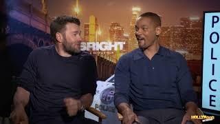 On 'Bright' Set, Will Smith & Joel Edgerton Break Up Over Makeup