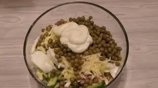 ДЕЛАЙ СМЕЛО! Быстрый салат на скорую руку!