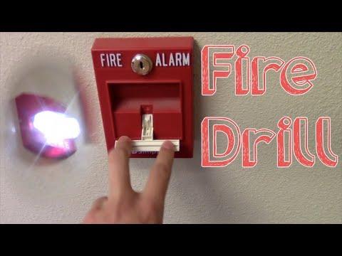 School Fire Drill #13