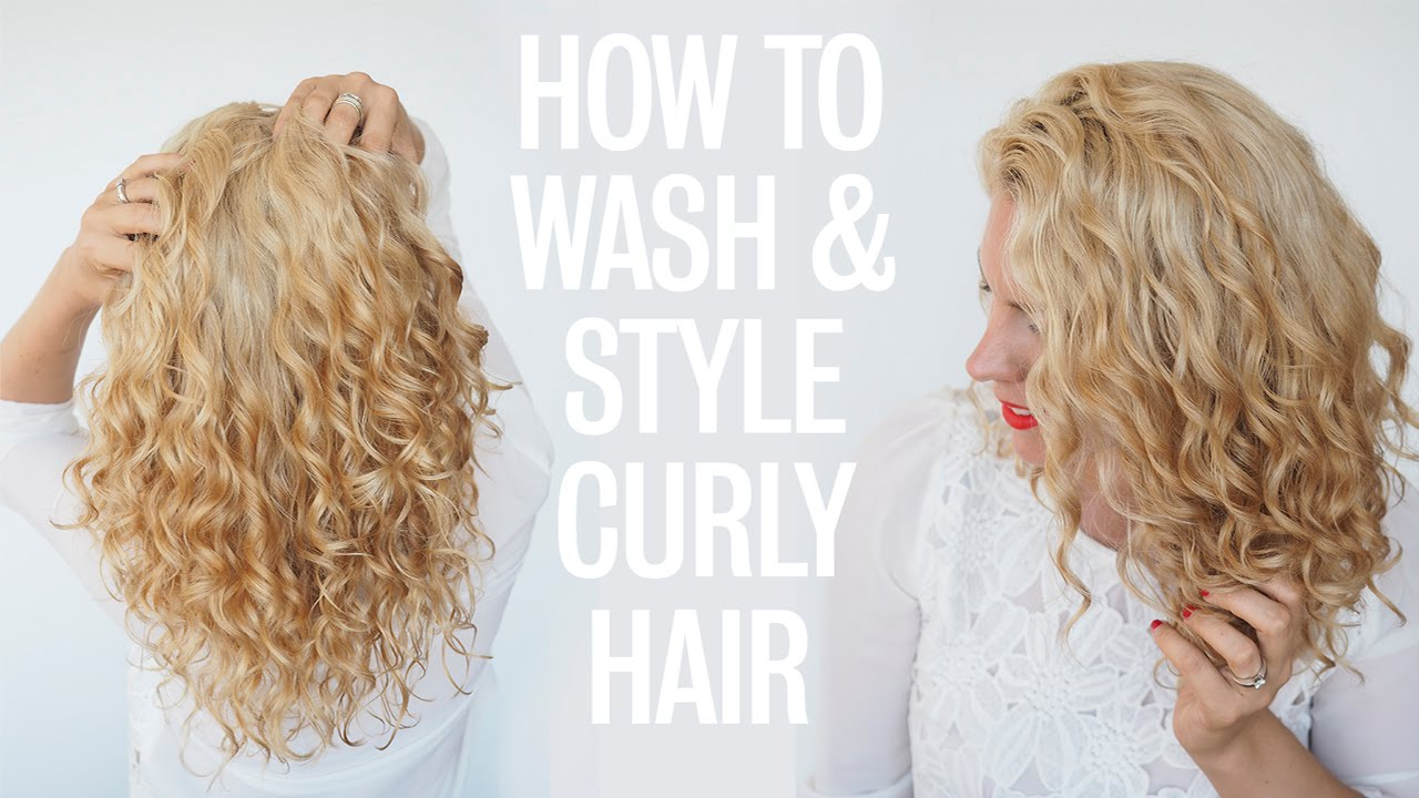best way to style curly hair how to wash and style curly hair 7250