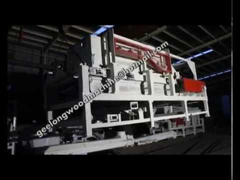 diamond forming machine for full automatic particle board production line