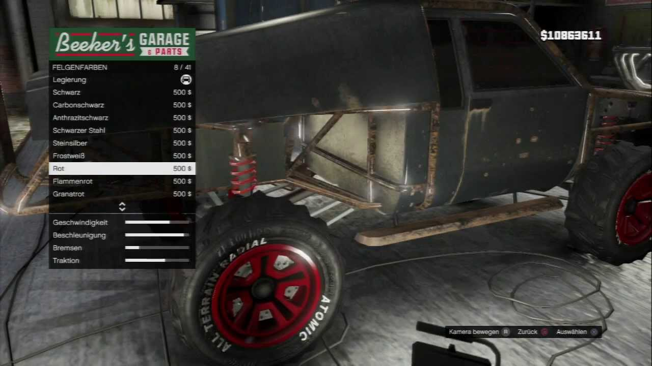 Gta Karin Rebel Tuning Death Race Car Youtube