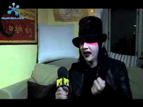 Marilyn Manson interview on Phantasmagoria