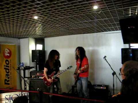 Marty Friedman - A blues jam - Live in Genova 01/07/2009
