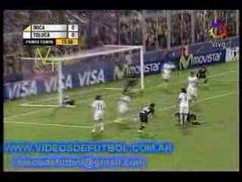 Boca 1 - Toluca 0 (Maidana)