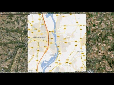 [Qgis] Tutorial 16 : Google Earth / Open Street Map / Yahoo Street Map