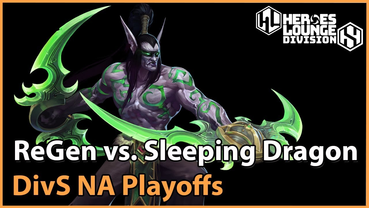 ► Sleeping Dragon vs. ReGen - Division S NA Playoffs - Heroes of the Storm Esports