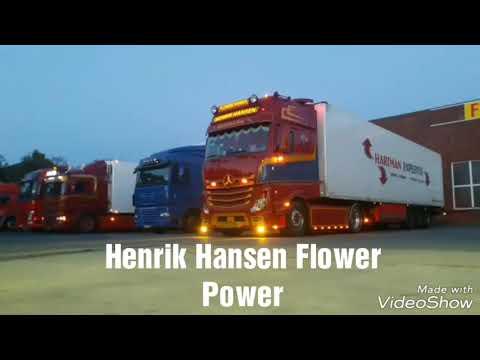 Henrik Hansen Flower Power MB,ACTROS