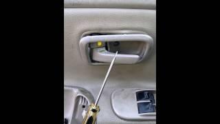2005 Toyota Tundra Door Panel Removal