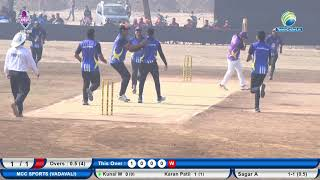 MCC Sports vs Kalika Sports| | Ranjit Smruti Chashak 2019 || Thane || Day 6