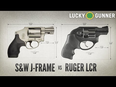 Smith & Wesson J-frame Vs Ruger LCR