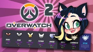 Overwatch: Competitive Placements - PART 2 - Kitty Kat Gaming