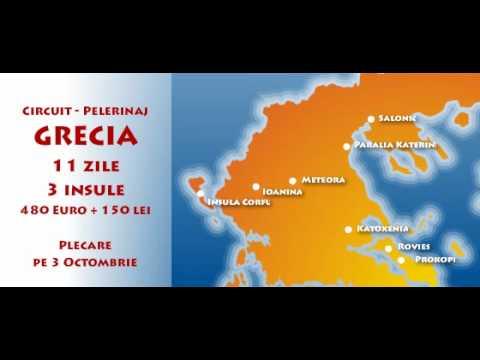 Circuit Pelerinaj Grecia Insulele Evia Egina Si Corfu