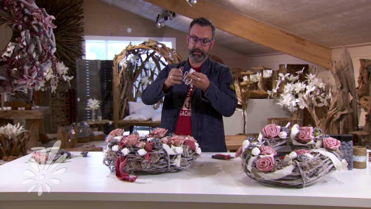 Een krans opmaken is makkelijk met romeo sommers youtube - Voorbeeld van decoratie ...