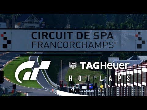 GT Tag Heuer Hot Laps: Circuit de Spa-Francorchamps