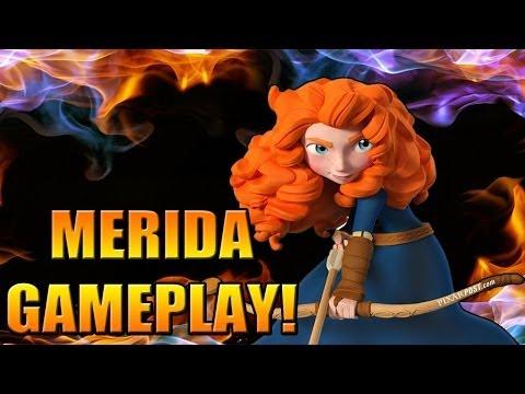Disney Infinity - NEW MERIDA GAMEPLAY + POWER DISC GAMEPLAY! - Disney Infinity 2.0 News