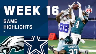 Eagles vs. Cowboys Week 16 Highlights | NFL 2020