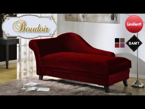 Recamiere barock  Recamiere Barock Boudoir - YouTube