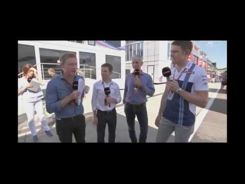 Interview Paul Di resta Part 2 Post Qualy Hungary F1 2017
