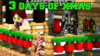 Minecraft: THE 3 DAYS OF CHRISTMAS! - CHRISTMAS ORNAMENT HUNT - Custom Map