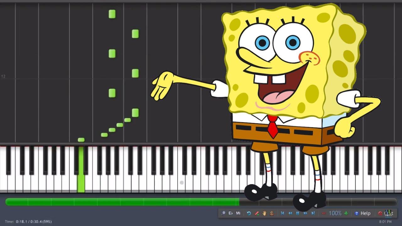 The campfire song song spongebob squarepants (satb) sheet music.
