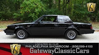 1987 Buick Grand National, Gateway Classic Cars Philadelphia - #218