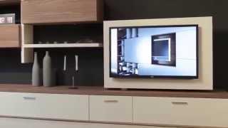 Стенка в гостиную с поворотом TV(Очень удобная штука!, 2015-07-17T16:10:37.000Z)