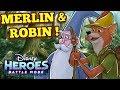 Robin Hood & Merlin!! + New Server & Patch update !!  - Disney Heroes: Battle Mode