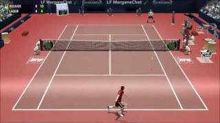 Full Ace Tennis Simulation PC - Aggressive AI