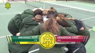 Tech Tennis vs. Henderson State Highlights -  3/16/17
