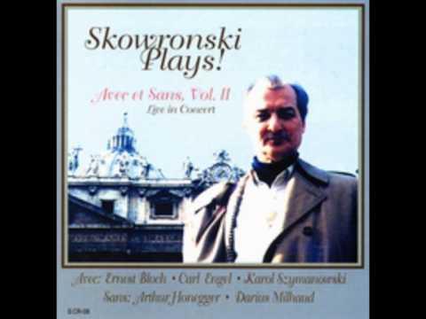 Skowronski Plays! Szymanowski Violin Sonata Third Movement