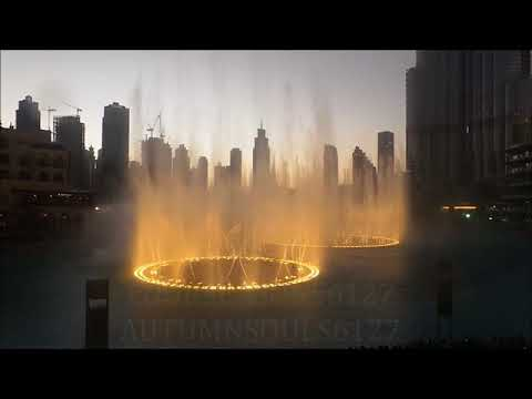EXO-POWER Premier @ Dubai Dancing Fountain Part 02