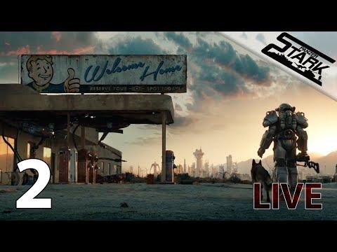 Fallout 4 - 2.Rész (Irány Gyémánt Város) - Stark LIVE