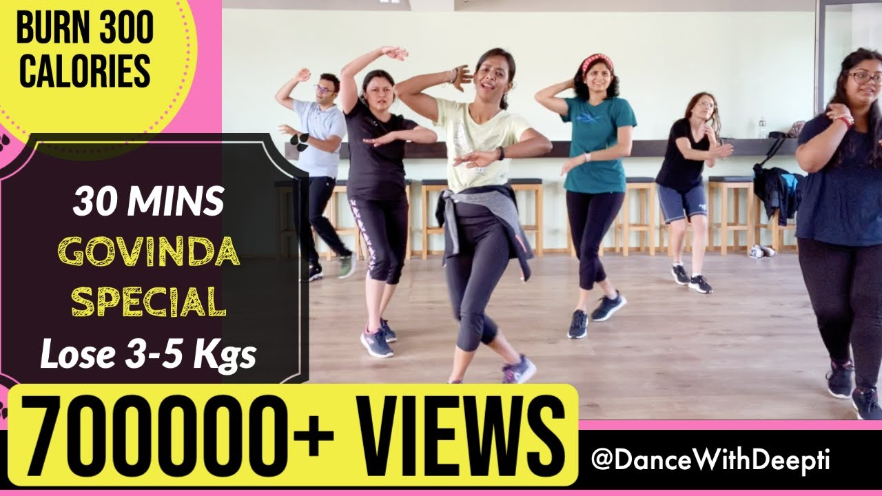 30mins Daily - Beginner Bollywood Dance Workout | Easy Exercise to Lose weight 3-5kgs