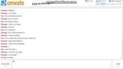 Worst Omegle Chat, Disturbing!!!