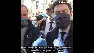 """Benoît Payan sur l'OM : """"Il ne faut pas mettre de l'huile sur le feu"""""""