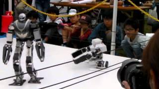 Robot Pro-Wrestling Dekinnoka16, Saaga vs Hauser