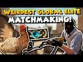CS:GO - Weirdest Global Elite Match I've played in a while! - Full MatchMaking