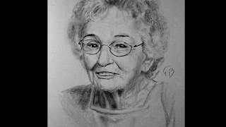 Time Lapse drawing of my Grandmother