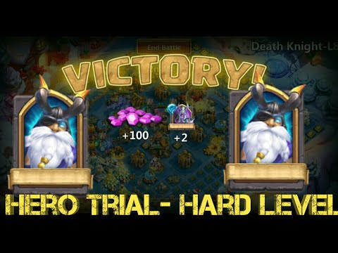 Heroes Trial | Hard Level | Best Base | Smashing All Heroes | Castle Clash