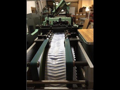 FL Smithe RA800 Envelope Converting Machine