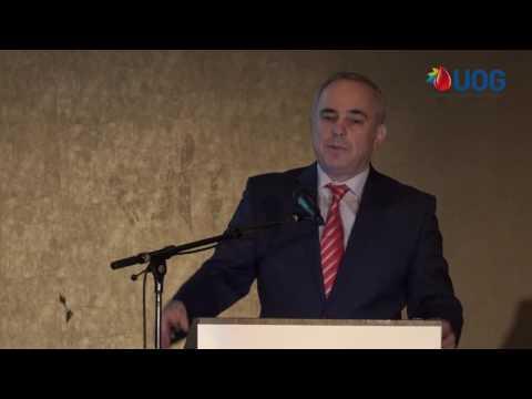 OUG Opening Ceremony with MK Yuval Steinitz