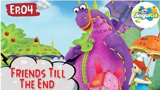 DIBO Sing Along   Friends Till The End   Learning Songs   Preschool Cartoon Songs  Learning For Kids