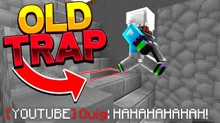 CLASSIC FAKE STAIR TRAP! (Hypixel Skywars Trolling)