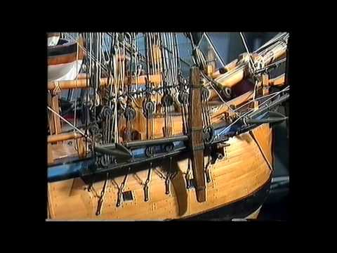 Flagship Endeavour Ship - The Launch / HM Bark Endeavour Replica / 9 December 1993 HD