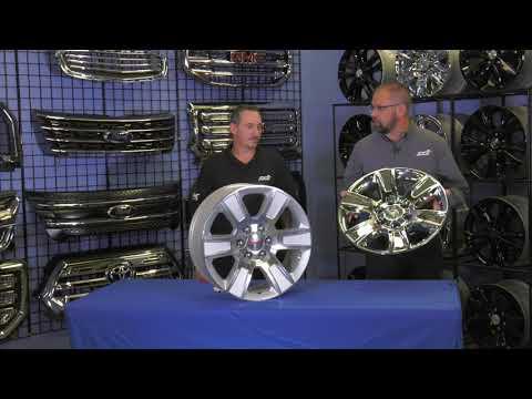 INSTALLATION: IMP426X Impostor Series Wheel Skins for the GMC Sierra