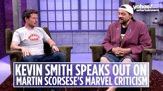 Kevin Smith on Martin Scorsese's criticism of Marvel movies